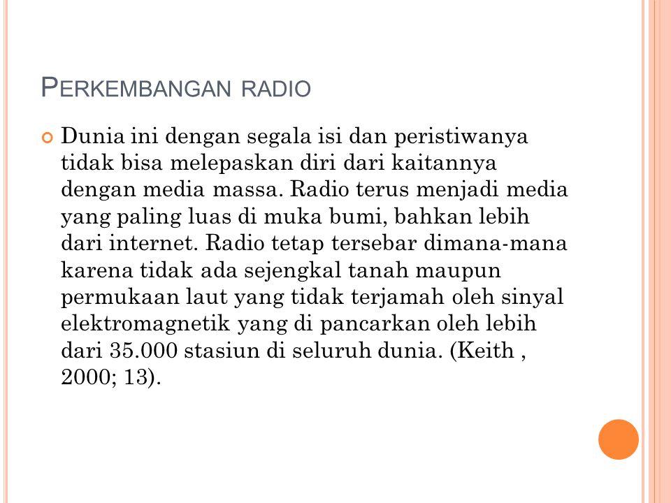 Perkembangan radio