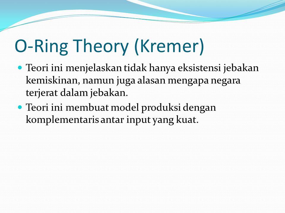 O-Ring Theory (Kremer)