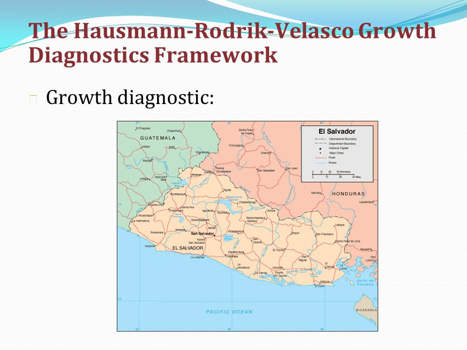 The Hausmann-Rodrik-Velasco Growth Diagnostics Framework
