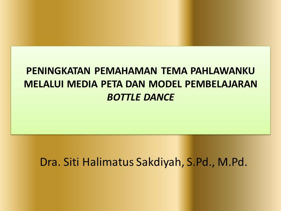 Dra. Siti Halimatus Sakdiyah, S.Pd., M.Pd.