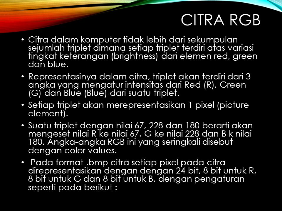 Citra rgb