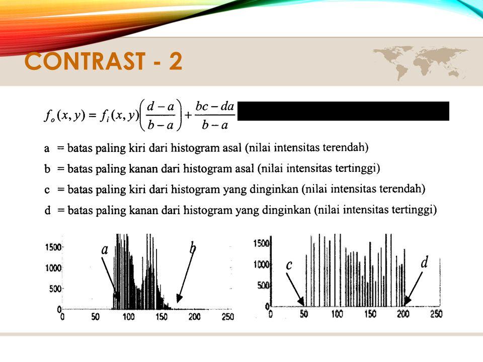 Contrast - 2