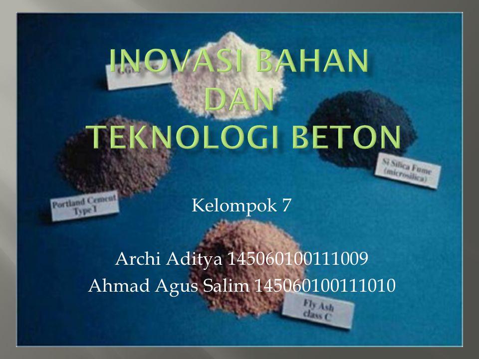 Inovasi Bahan dan Teknologi Beton