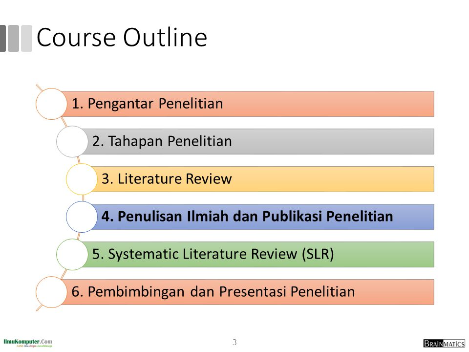 Course Outline romi@romisatriawahono.net http://romisatriawahono.net