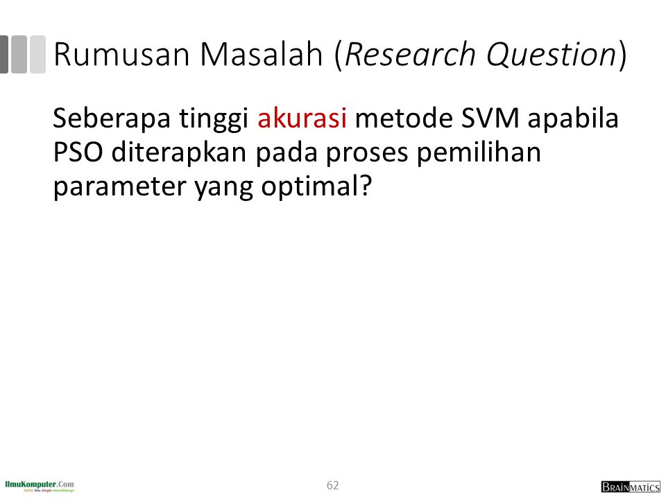 Rumusan Masalah (Research Question)