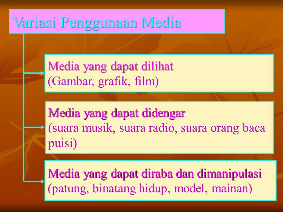 Variasi Penggunaan Media