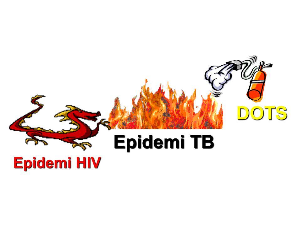 DOTS Epidemi TB Epidemi HIV