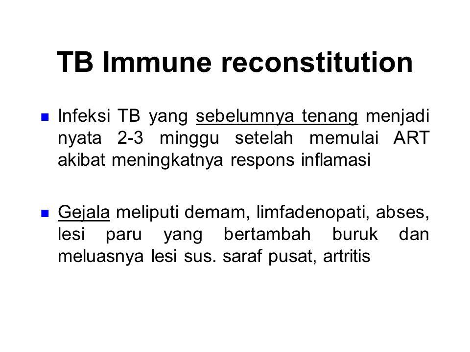 TB Immune reconstitution