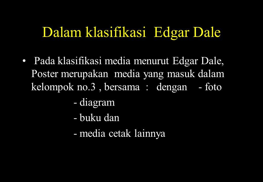 Dalam klasifikasi Edgar Dale
