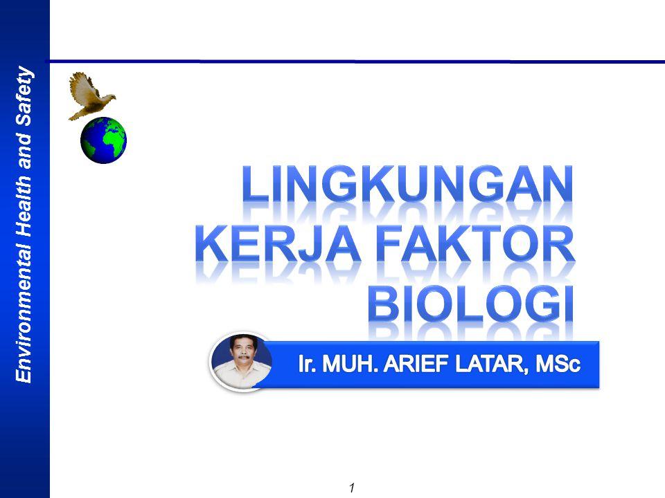 LINGKUNGAN KERJA FAKTOR BIOLOGI