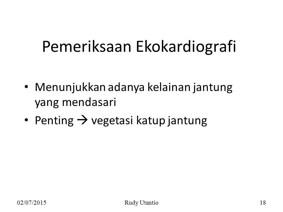 Pemeriksaan Ekokardiografi