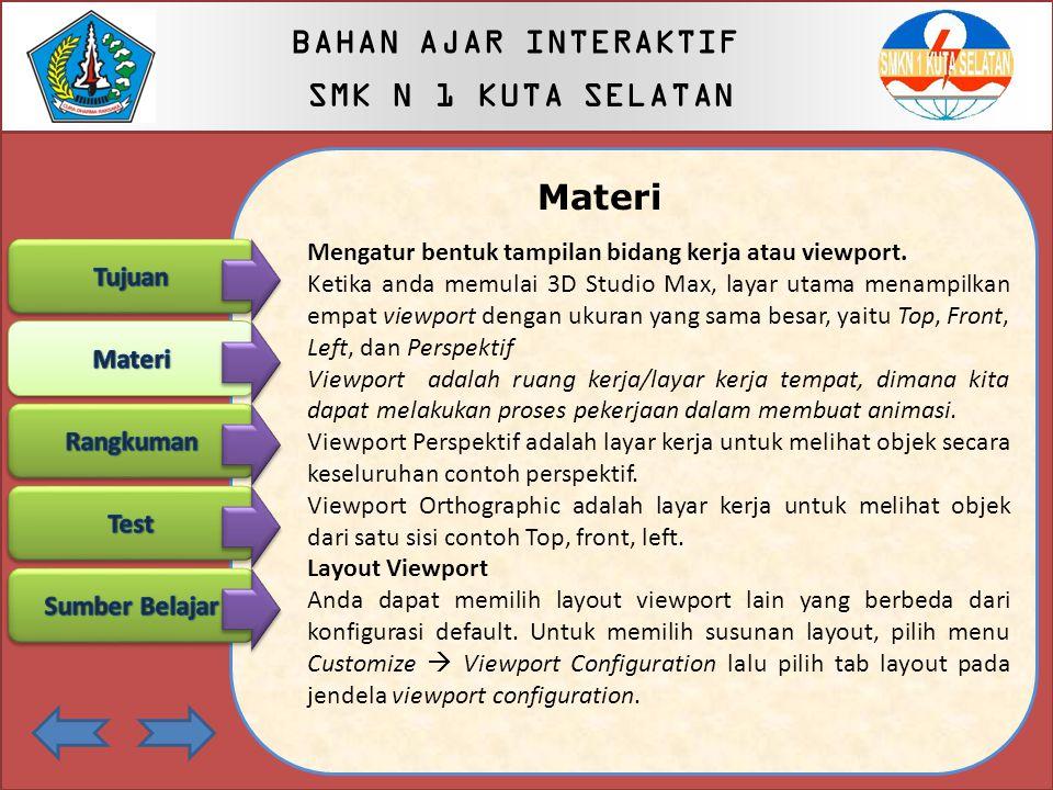 BAHAN AJAR INTERAKTIF SMK N 1 KUTA SELATAN BAHAN AJAR INTERAKTIF