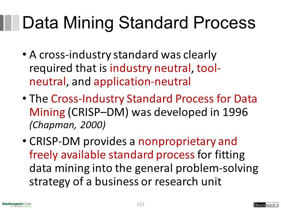 Data Mining Standard Process