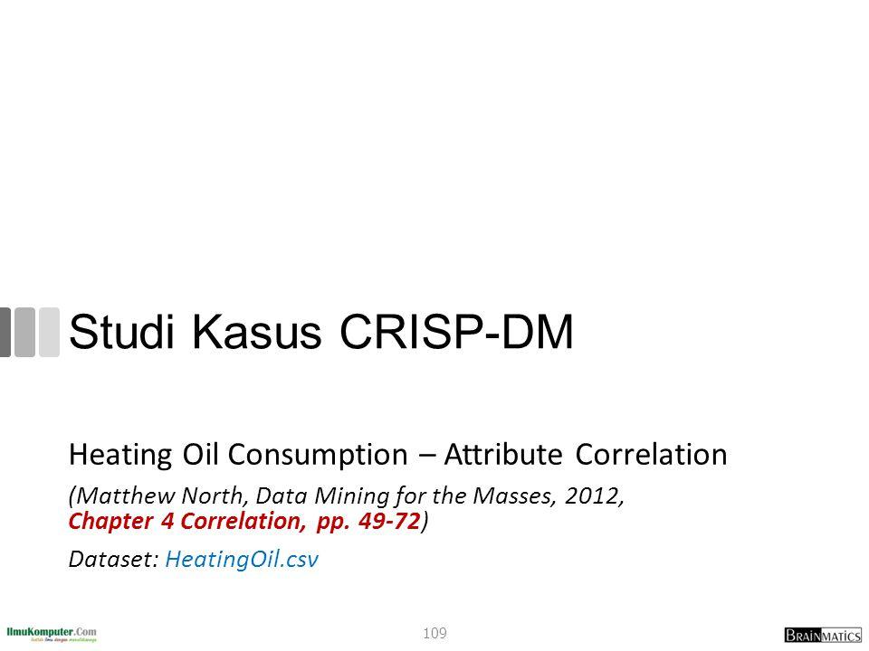 Studi Kasus CRISP-DM Heating Oil Consumption – Attribute Correlation
