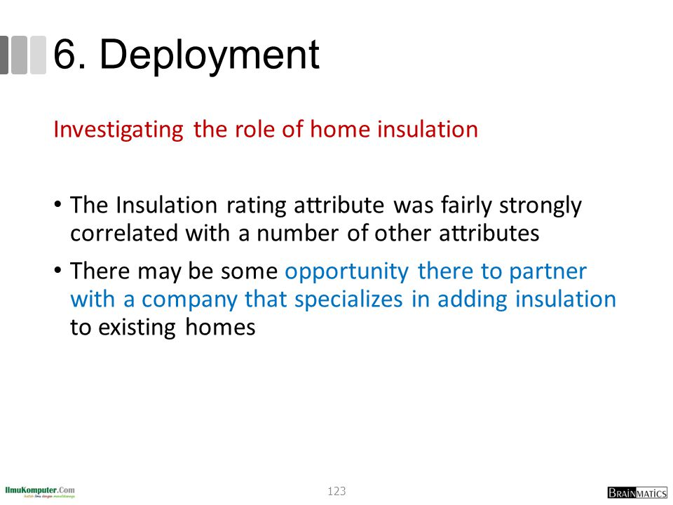 6. Deployment Investigating the role of home insulation