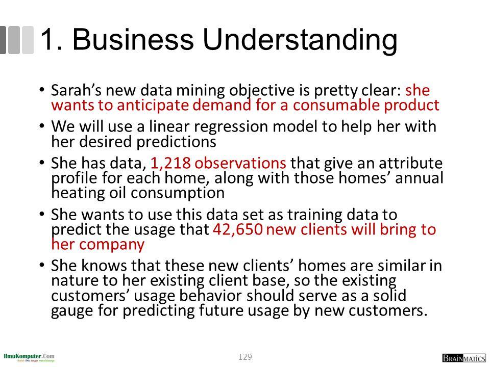 1. Business Understanding