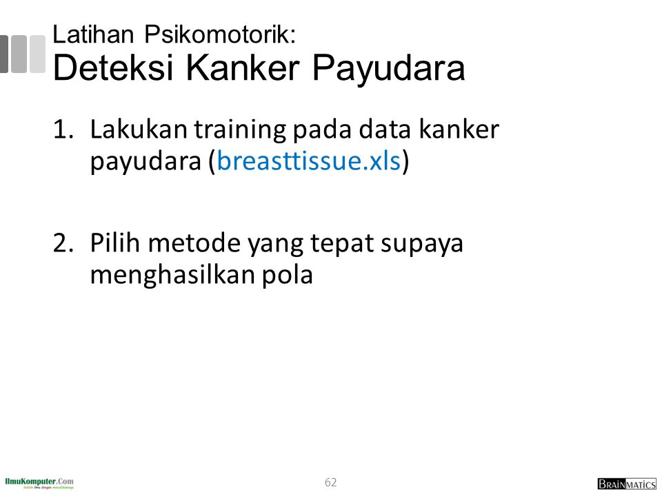Latihan Psikomotorik: Deteksi Kanker Payudara