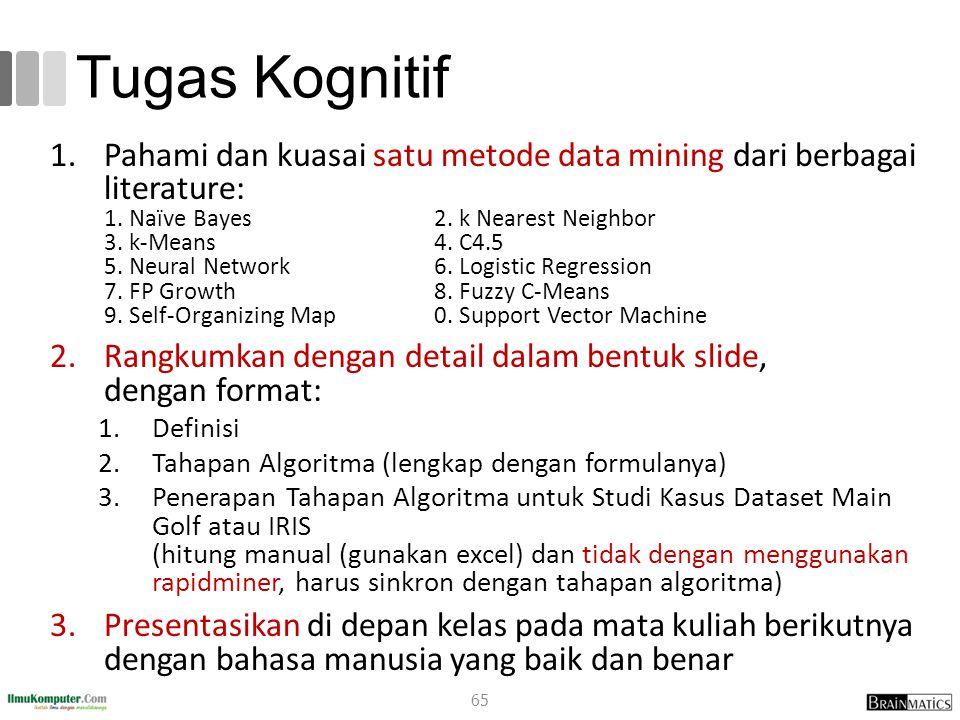 Tugas Kognitif