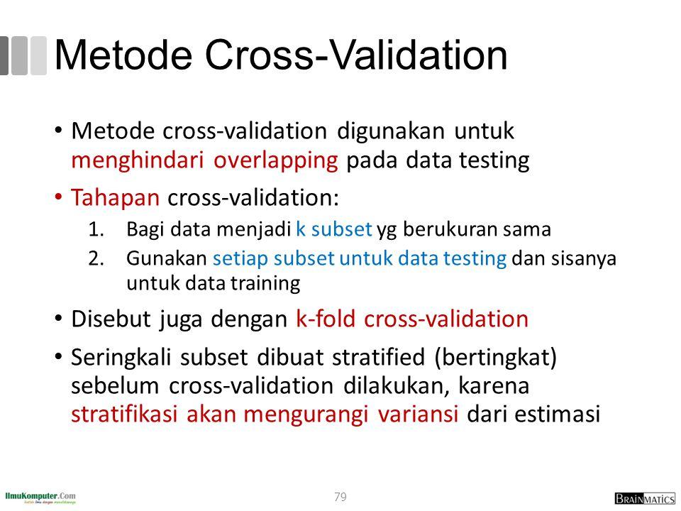 Metode Cross-Validation