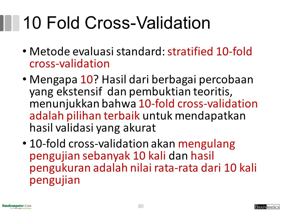 10 Fold Cross-Validation