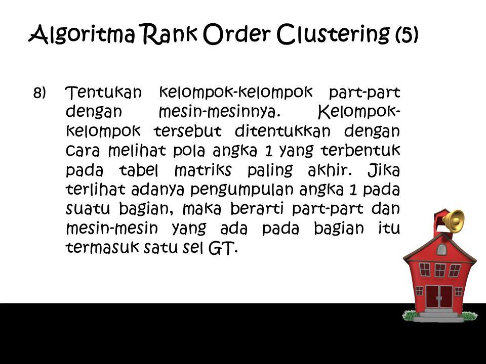 Algoritma Rank Order Clustering (5)