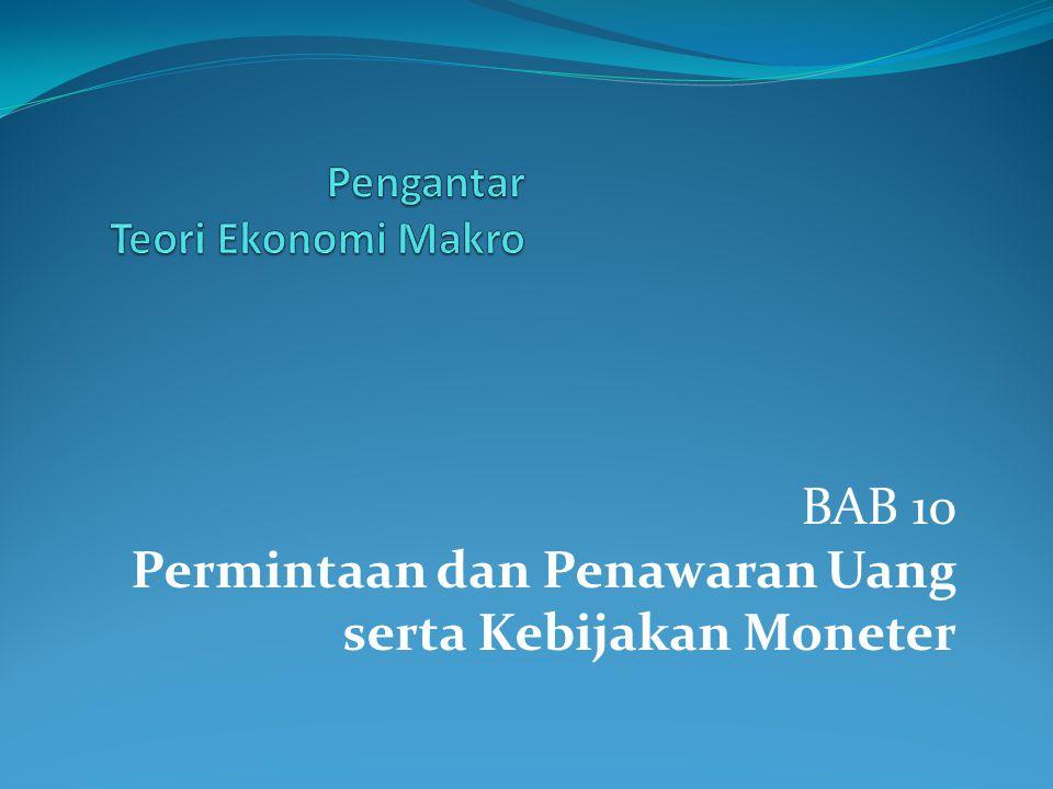 Pengantar Teori Ekonomi Makro