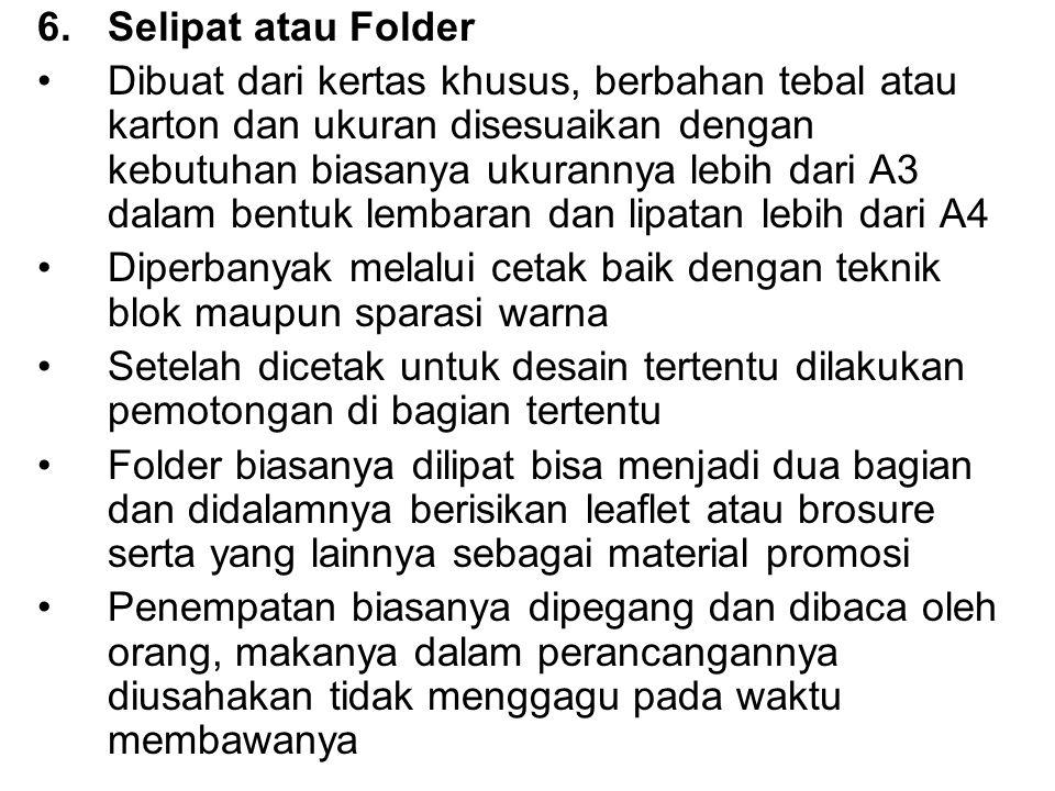 Selipat atau Folder