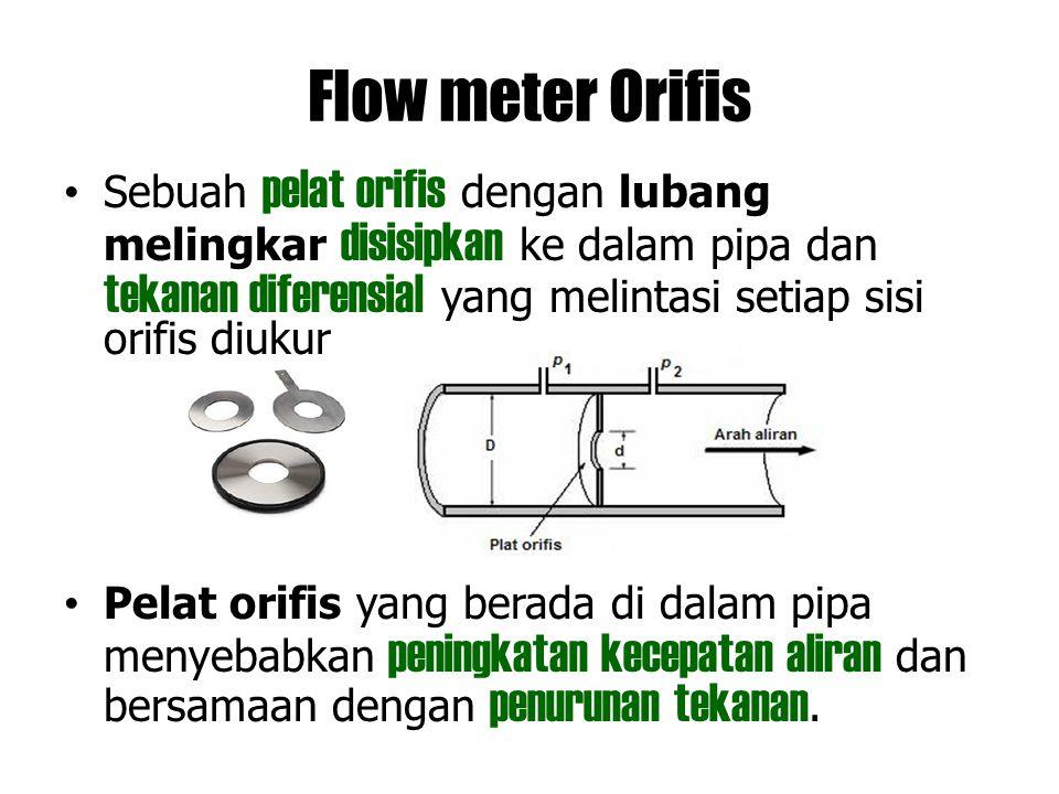 Flow meter Orifis