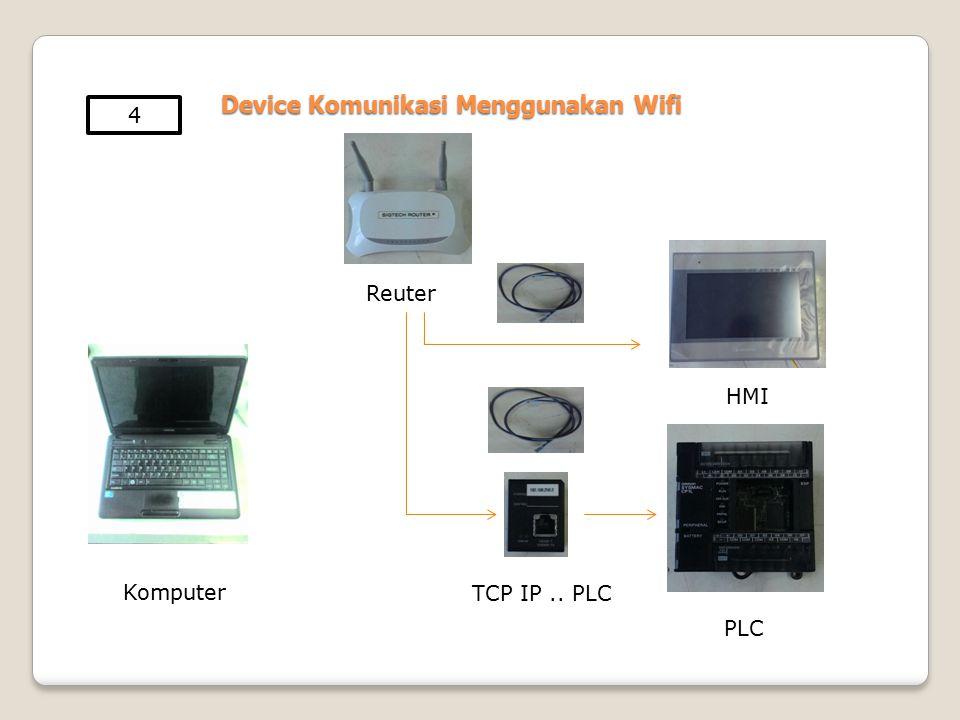 Device Komunikasi Menggunakan Wifi