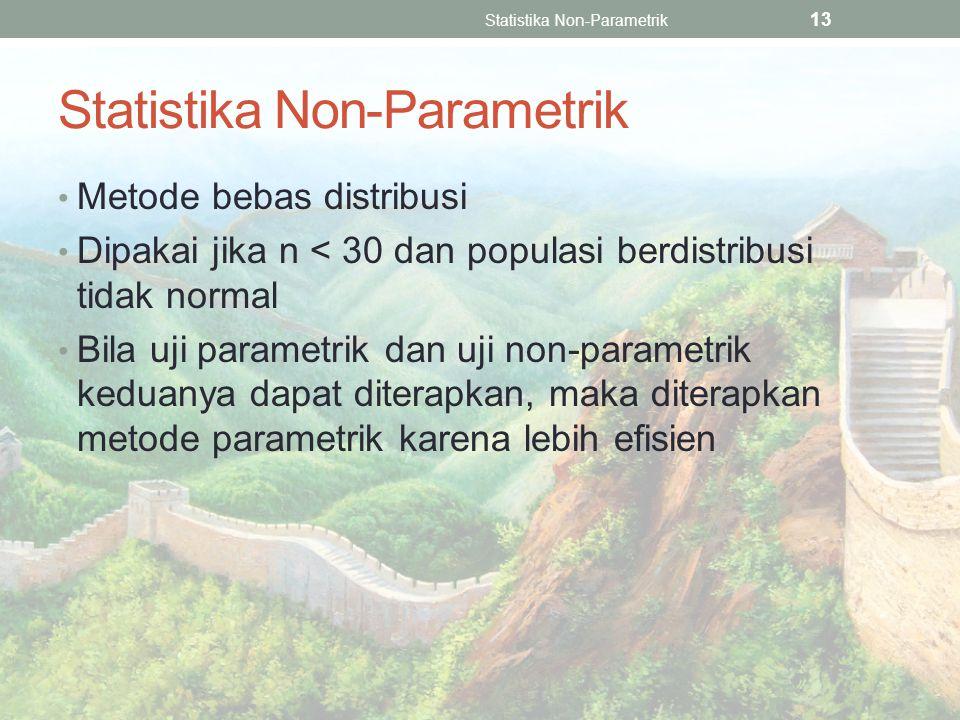 Statistika Non-Parametrik