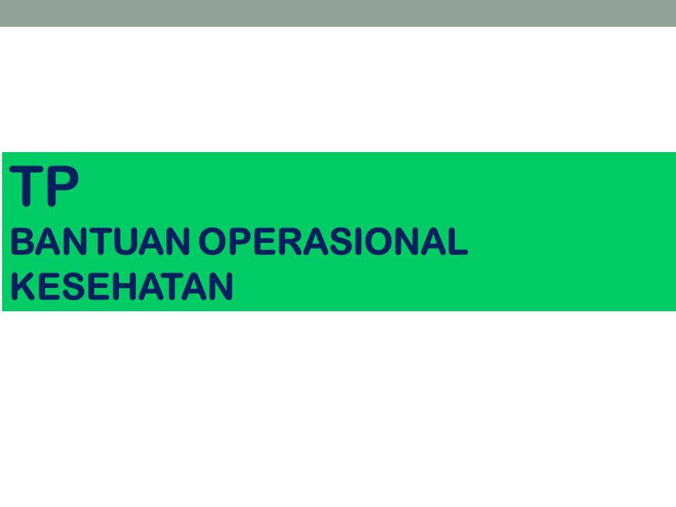TP BANTUAN OPERASIONAL KESEHATAN