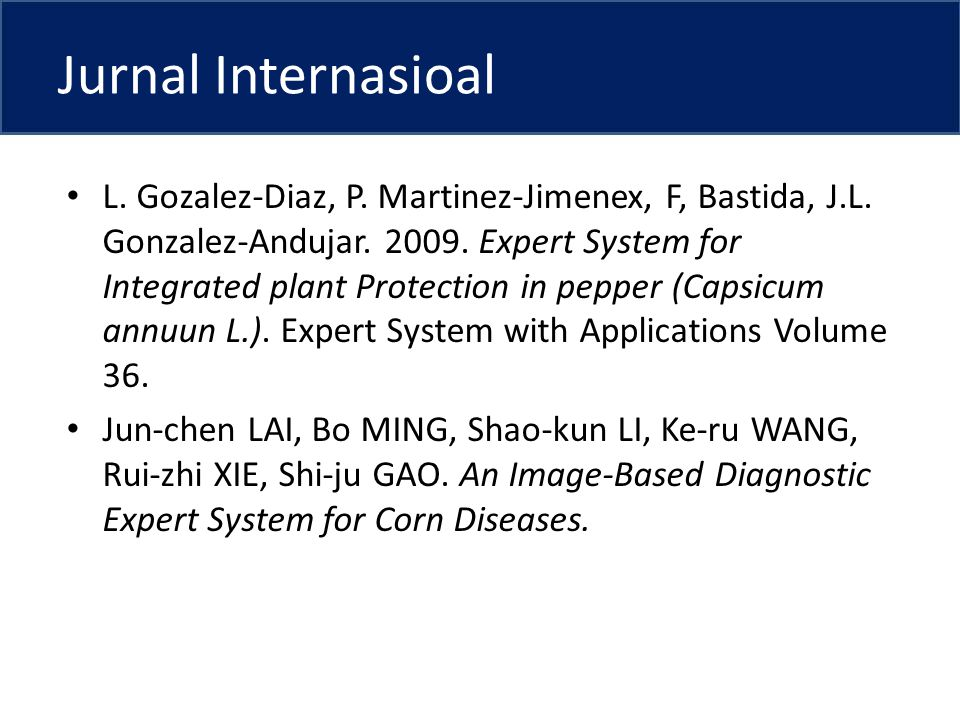 Jurnal Internasioal