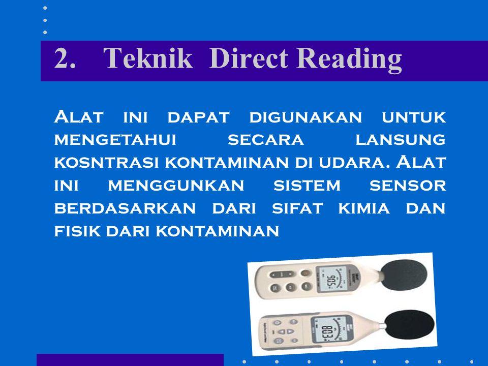 2. Teknik Direct Reading