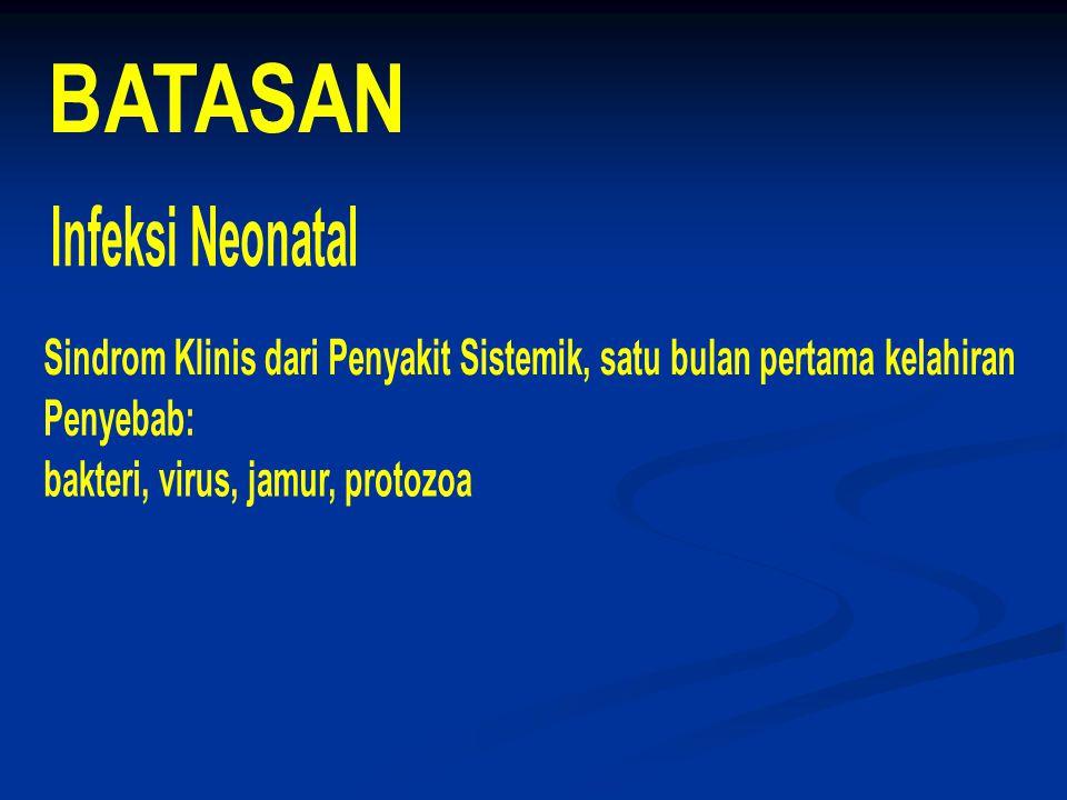 BATASAN Infeksi Neonatal