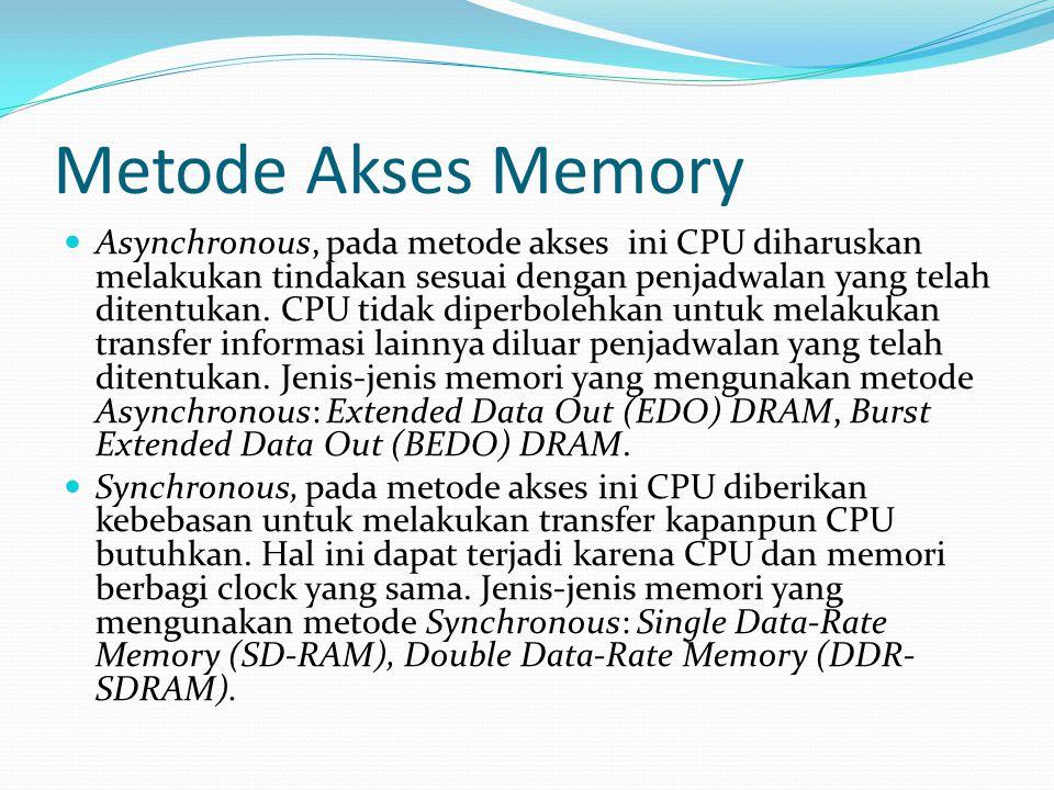 Metode Akses Memory