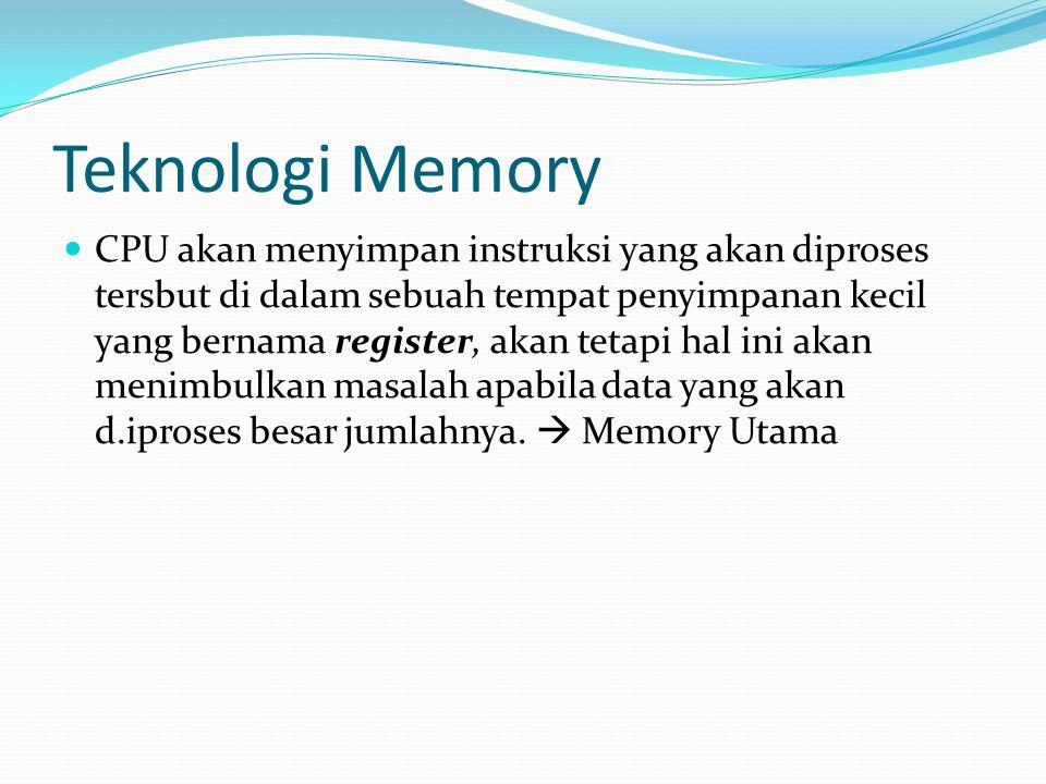 Teknologi Memory