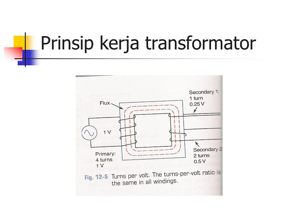 Prinsip kerja transformator
