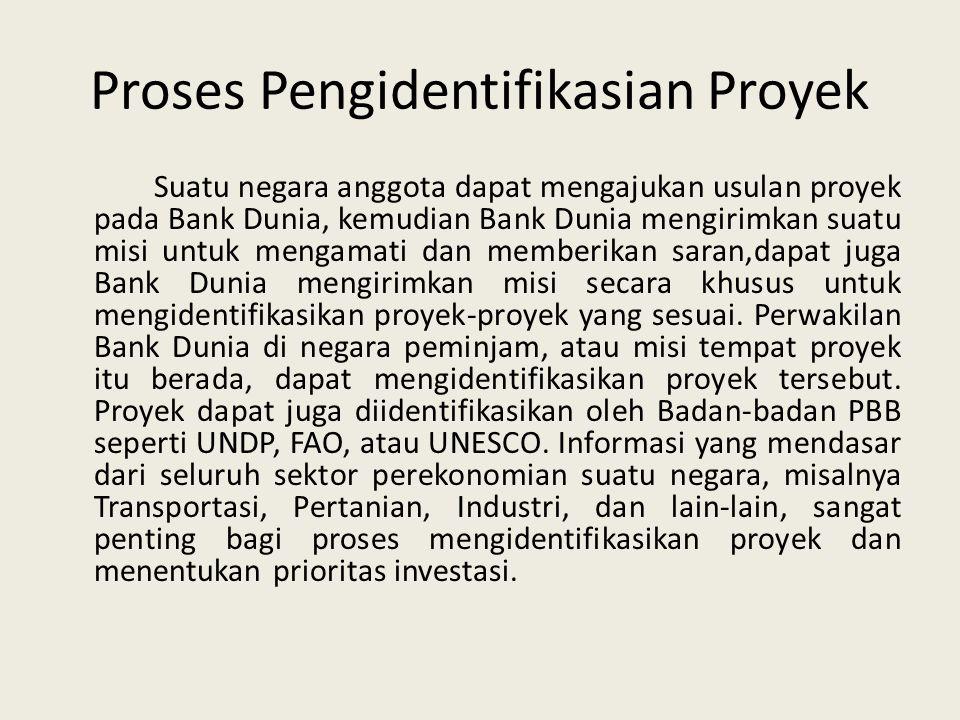 Proses Pengidentifikasian Proyek