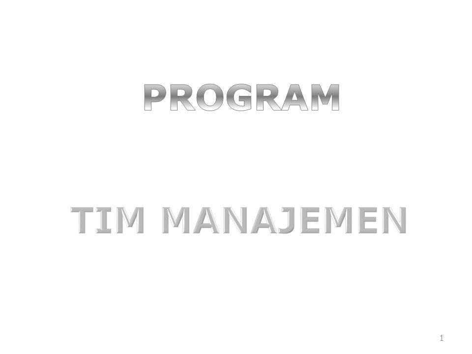 PROGRAM TIM MANAJEMEN