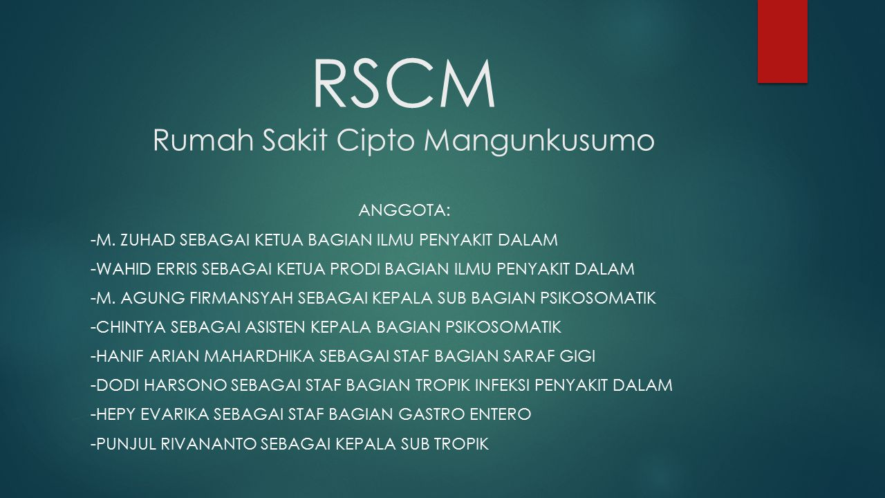 RSCM Rumah Sakit Cipto Mangunkusumo