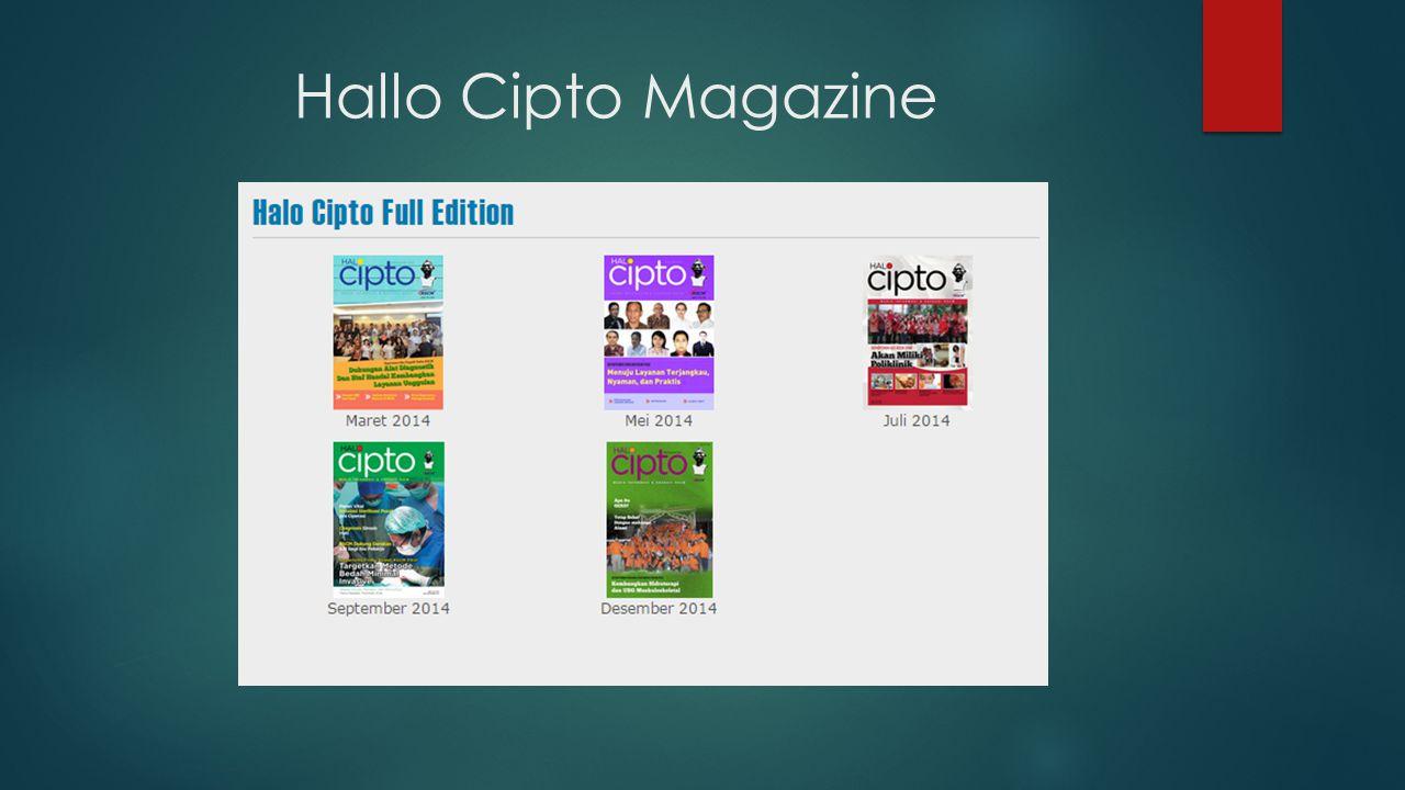Hallo Cipto Magazine