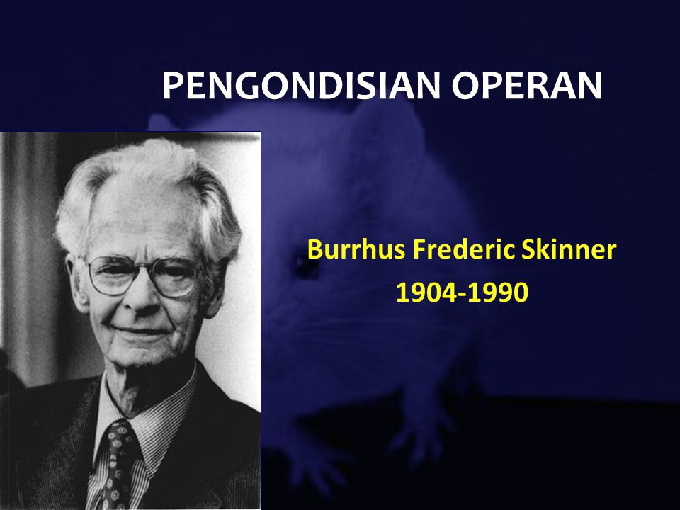 the life and interest in psychology of burrhus frederic skinner