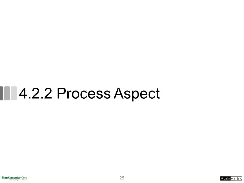 4.2.2 Process Aspect