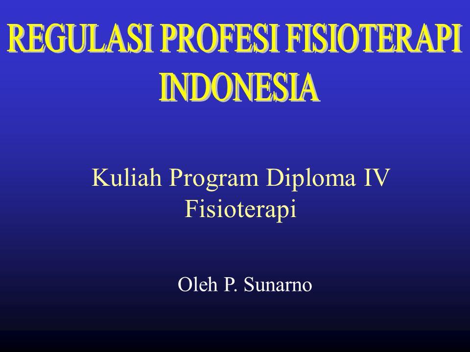 Kuliah Program Diploma IV Fisioterapi