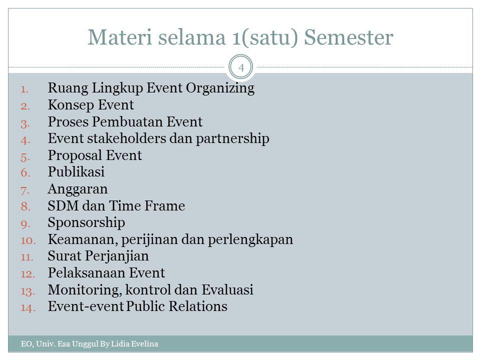 Materi selama 1(satu) Semester