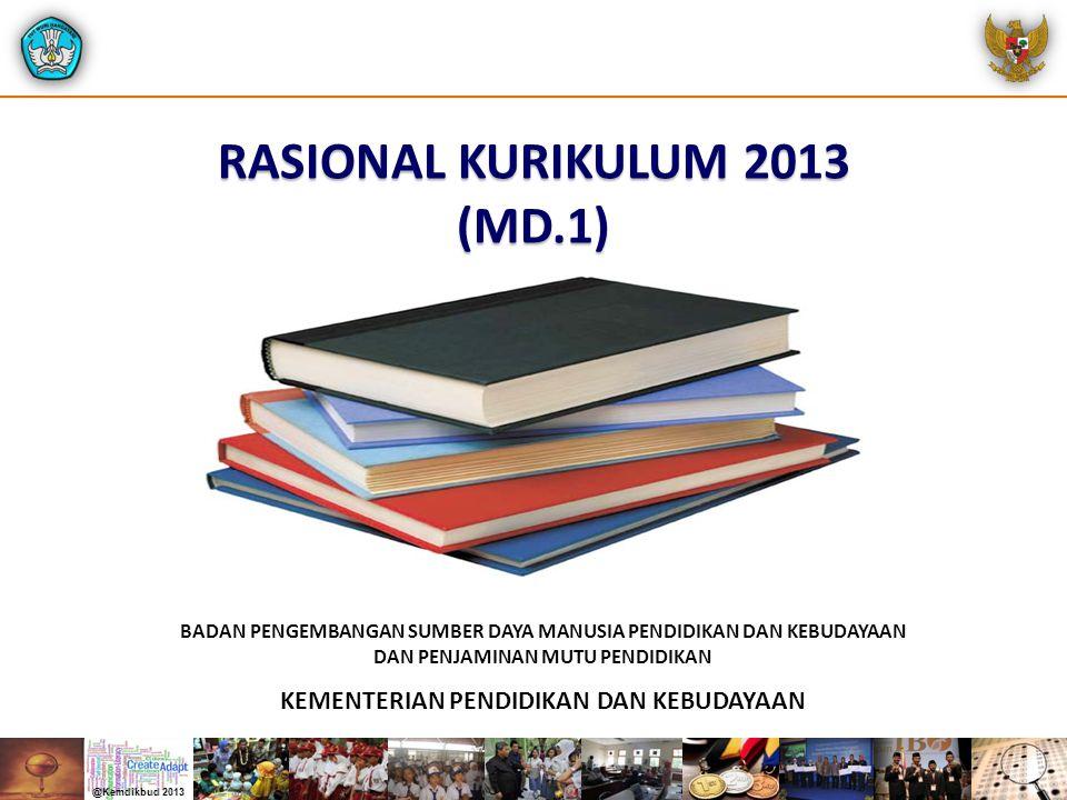 RASIONAL KURIKULUM 2013 (MD.1)