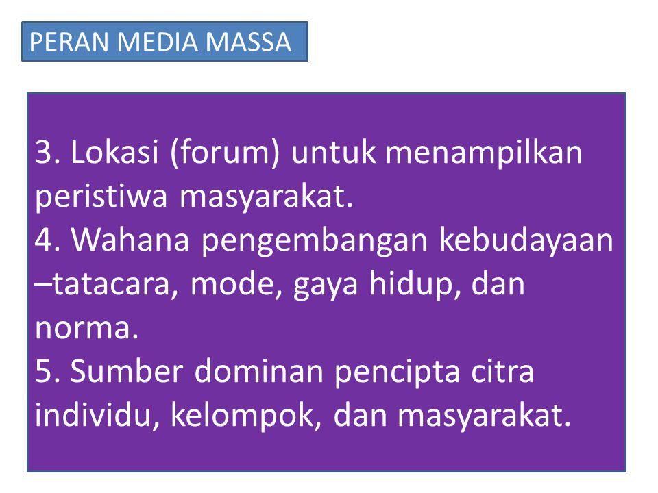 PERAN MEDIA MASSA