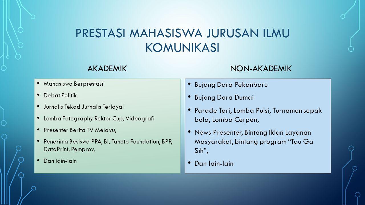 Prestasi mahasiswa jurusan ilmu komunikasi