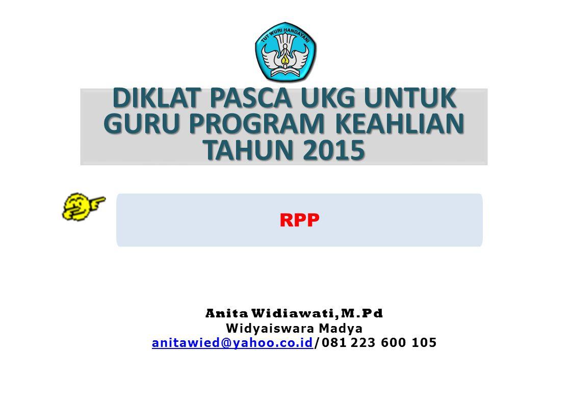 DIKLAT PASCA UKG UNTUK GURU PROGRAM KEAHLIAN TAHUN 2015