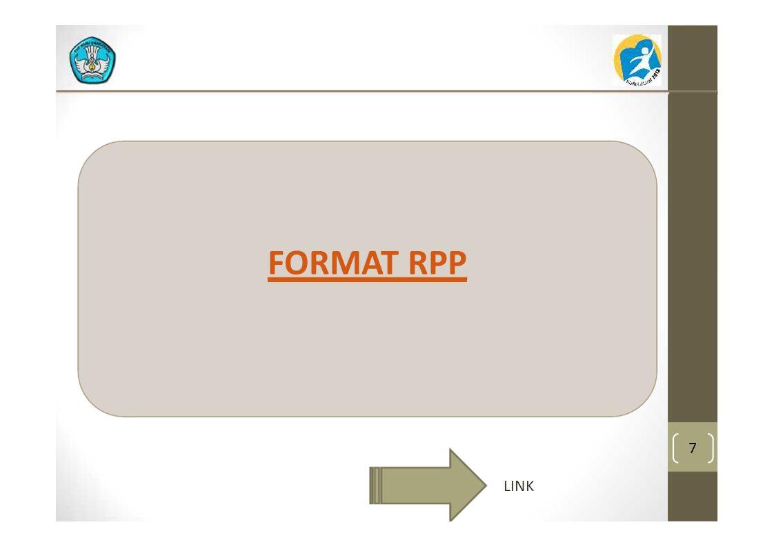FORMAT RPP 7 LINK